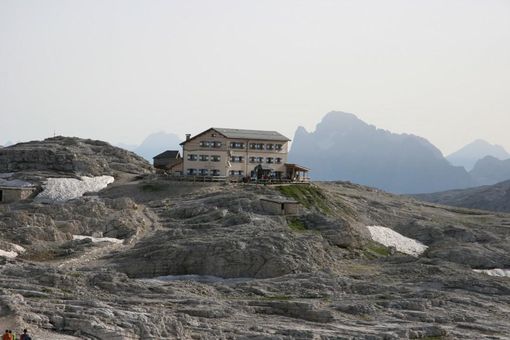 Un rifugio nelle Dolomiti Venete